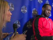 Watch free video LeBron James Interview - My Inspiration