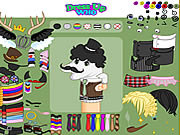Dirty Socks Dress Up game