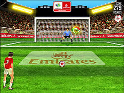 Emirates FIFA World Cup Shootout game