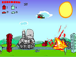 Cantankerous Tank game