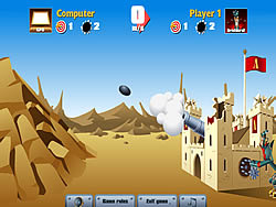 Castle Cannon game