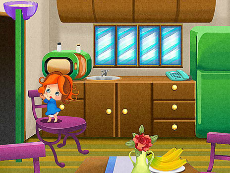 Baby Emily Little House Guardian game