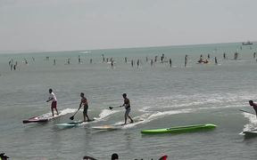 Watch free video Battle of the Paddle 2012