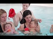 Watch free video Babies are Natural Swimmers