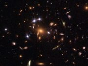 Watch free video Quintuple quasar galaxy cluster (annotated)