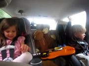 Watch free video Singing Kids Freres and Jacques in the car
