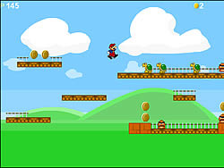 Old Mario Bros game