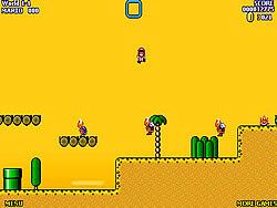 Super Mario World Flash 2 game