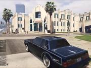 Watch free video GTA 5: LOW RIDER DLC street bounce!