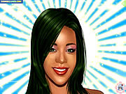 Rihanna Makeover game