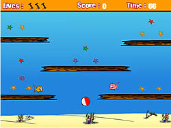 Beach Ball Control game