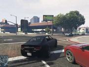 Grand Theft Auto V First Time Online Driving