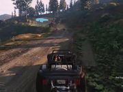 Watch free video Grand Theft Auto V - Mountain Drift