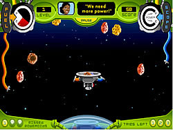 Asteroid Avalanche game