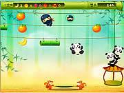 Juega al juego gratis Panda Jump