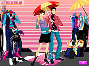 Colors Of The Rain Dressup game