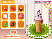 Juega al juego gratis Cool Ice Cream Maker
