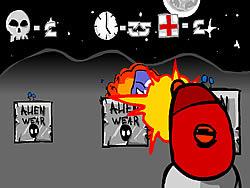 Alien Under Fire game