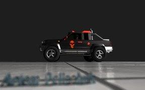 Watch free video Diavolo pickup truck