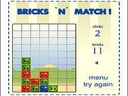 Bricks 'n' Match game