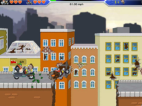 play zombies want my bike game online y8com