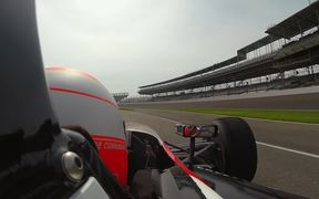 Watch free video Indy Car Ride Along