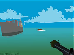 Foxy Sniper - Pirate Shootout game