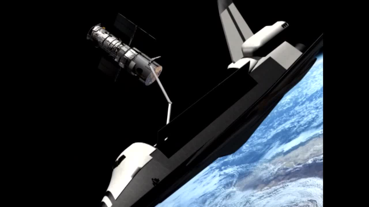 Watch free video Releasing Hubble After a 100% Succesful Mission