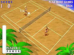 Beach Tennis game