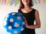 How Do You Blow A Helium Balloon Without Helium?