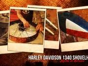 ดูการ์ตูนฟรี Harley Davidson Custom Bike, Hard Work
