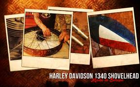 Watch free video Harley Davidson Custom Bike, Hard Work