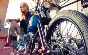 Watch free video Harley Davidson Custom Bike, Hard Work