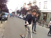 Watch free video Evian Roller-Bike Parade