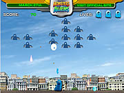 Juega al juego gratis Monsters vs. Alien - Gallaxhar Invades
