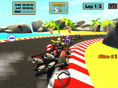 Go Kart Racing game