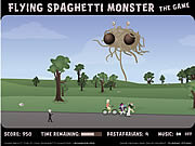 Gioca gratuitamente a Flying Spaghetti Monster