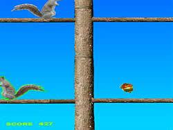 Acorn Toss game