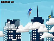 Sonic on Clouds game