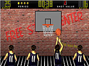 Juega al juego gratis Basketball Shooting Game