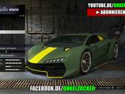 Cartoon GTA 5 PAINT JOB GERMAN - GAMEPLAY