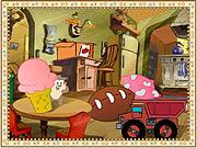 Baby Taz's Hide n Seek game