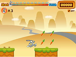 Bugs Bunny's Hopping Carrot Hunt game