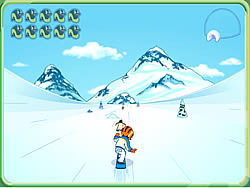 Go Diego Go - Snowboard Rescue game
