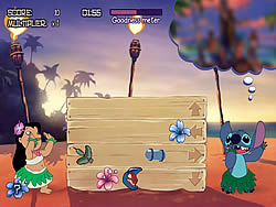 Lilo & Stich - Hula Hustle game