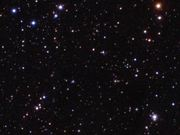 Watch free video Zoom and pan of colourful view of the Universe