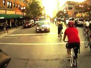 Watch free video First person Critical Mass Chicago