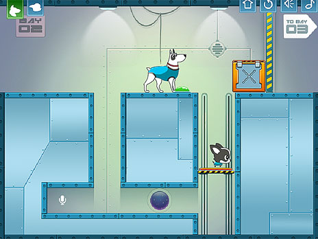 Dog In Space game