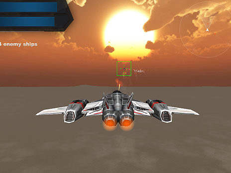 Alien Sky Invasion game