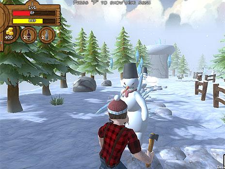 Lumberjack Story game